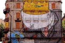 Blu  artista di Street Art
