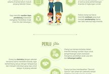 Infographic Tips / Kumpulan Infografis Tips, design by #SlideMakeOverExpert dari beberapa sumber terpercaya