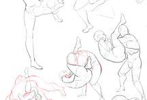 Zeichnen - Kampf