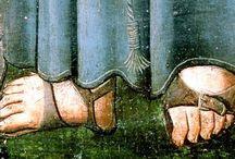 medieval sandals