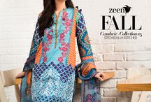 ZEEN Fall Cambric Collection / Available in Stores & Online Shop Stitched: http://goo.gl/e6XTOL Shop Unstitched: http://goo.gl/Yb57FO