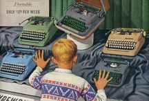 mașini de scris, cu timp și vorbe