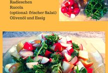 Gesunde Küche: leichte, gesunde und schnelle Rezepte