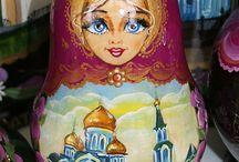 Забайкальская матрешка, Zabaikalskay matrioshka, doll / Творческие работы художницы Марины Федоровой. Creative work of artist Marina Fedotova.