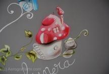 Aerografia Infantil  / Decoración mural de negocios y particulares, con la técnica de la aerografía (airbrush) / by Nano Lázaro