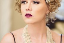 Vintage and 1920's glamour / Glamour portraits and art deco photography.