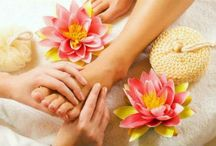 Pedicure & Manicure / All about leg and hand massage.