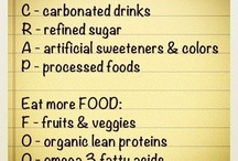 Eating clean / by Angie Ponson