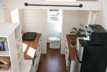 Malé prostory Small spaces / Řešení pro malé prostory