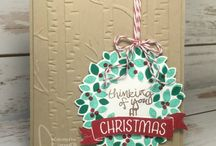 Stampin up / Wondrous wreath