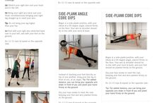 Get after it: Core / by Kim Steiner