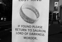 LOTR & Hobbit / by Karen ......
