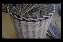Pletení z papíru - uzavírky