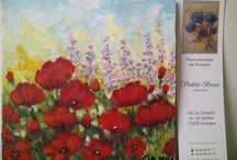 Ma jolie terre de Provence ,par Violetta Braga