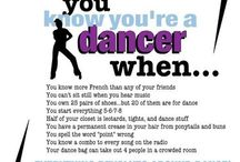 It's a Dancer Thing...