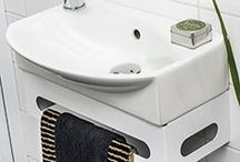 EASY - Smart furniture that allows you to utilise every square centimetre of your bathroom.