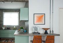 Inspirações casa nova do Til / Movelaria 50's e 60's, decorações diversas e criatividade de baixo custo.