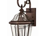"""Hinkley Lighting Augusta Collection / Hinkley Lighting has gone a long way from being a small outdoor lantern company into a global brand. The company takes pride in its quest to bringing lighting solutions that is of the best quality, style, and value. The company takes inspiration from its commitment to keeping """"Life Aglow."""""""