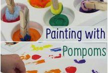 Kids activities painting / Paint