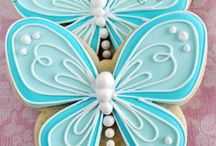 Iced Cookies / Royal icing cookies