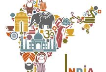 India  A Country of Symbolic Colors / Colorful india