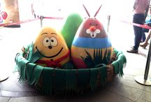 Easter Weekend Blast at DLF Promenade / Easter includes all sorts of food and fun. We took it a step ahead and made it an interesting one for kids