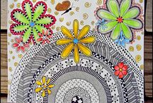 zentangle/drawing / by Michelle Plumb