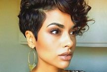 Stefanie curly short hair cuts for women