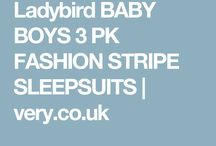Sleepy time with Ladybird X / New AW16 sleep suits & body suits from very.co.uk