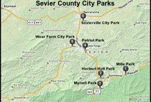 Sevier County / by Hidden Springs Resort