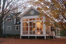 sunrooms, porches, patios / by Patti Ellis-Prine