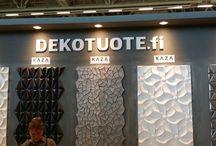 DEKOTUOTE - Habitare 2015
