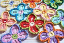 horgolt virág / horgolási ötletek