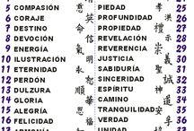 Ideogramas y símbolos