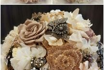 Brooch bouquet for Charrisa