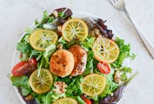 Spring Salads / Spring salad recipes made with seasonal ingredients. Mostly gluten-free and vegan.