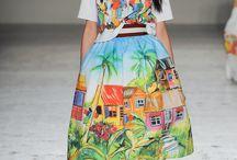 vestido paisajista