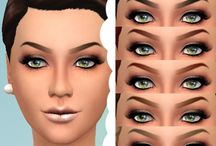 The Sims 4 eyebrow downloads