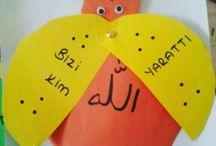 Çocuklara islamı öğretmeye yönelik etkinlikler