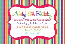 Rainbow B'day Party