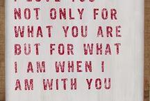 words / by Sarah Kristiansen