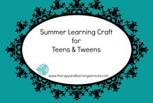 Crafts for Learning / www.brainycrafts.com These crafts are not only fun but teach valuable brain skills necessary for success in school and life.