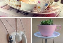 Recycled Tea cups