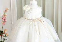 Baby Infant Toddler Little & Big Girl White Dress / Perfect dress for your little girl's baptism, communion, wedding, birthday party, photo shoot, baby shower or any occasion.