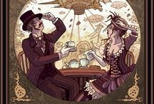 Its steampunk party time!