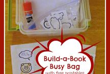 Busy bags and quiet bags for kids