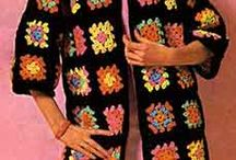 0 Crochet Granny Squares / Квадраты