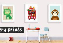 Nursery prints / Fun prints for kids