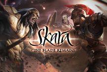 Skara Illustration / Illustration for Skara The Blade Remains