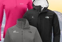 The North Face® / The North Face® has entered into the promotional products industry, and with commitment to innovation and design you wont be disappointed! Delivering an extensive line of performance apparel, this is a great co-branding opportunity from Fortune 500s to lesser known companies alike! These promotional North Face jackets, coats, vests, and sweatshirts can be customized with your brand's logo, design, or messaging allowing you to push the boundaries of your company's impressionable reach.